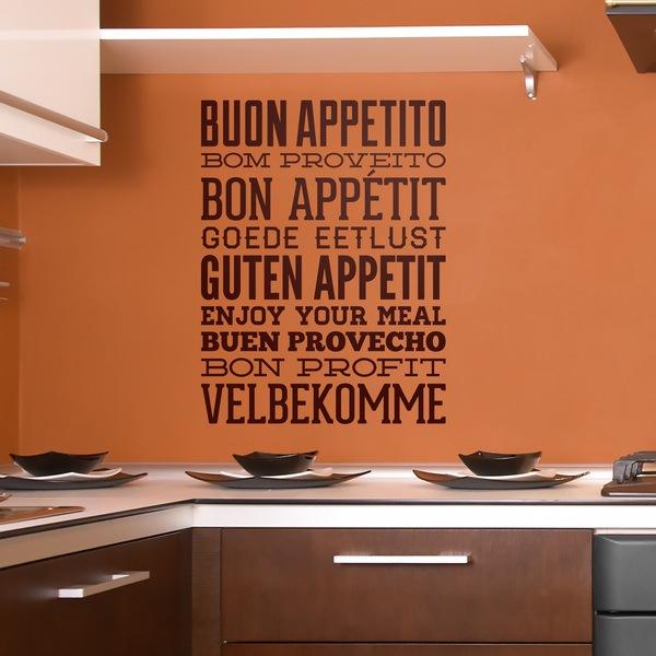 Adesivi Murali: Buon Appetito