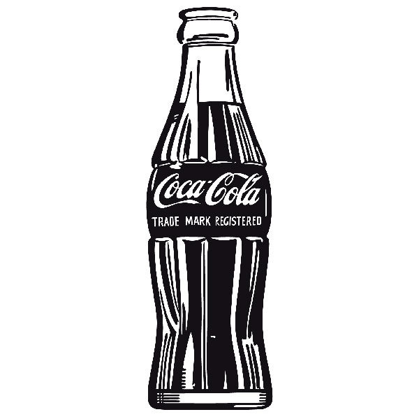 Adesivi Murali: Coca Cola Warhol