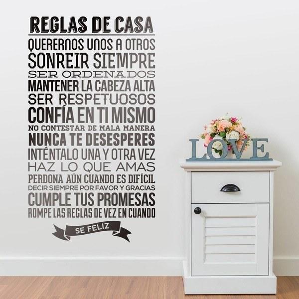 Adesivi Murali: Regole della Casa