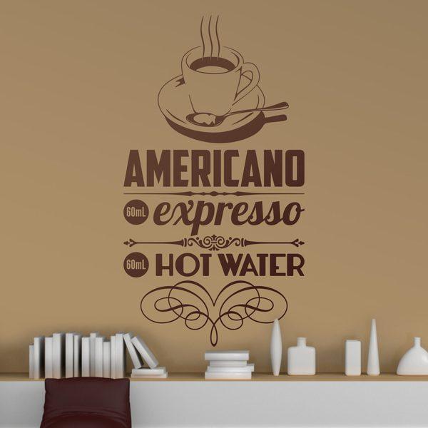 Adesivi Murali: American Coffee