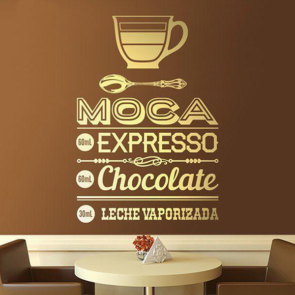 Adesivi Murali: Café Moca