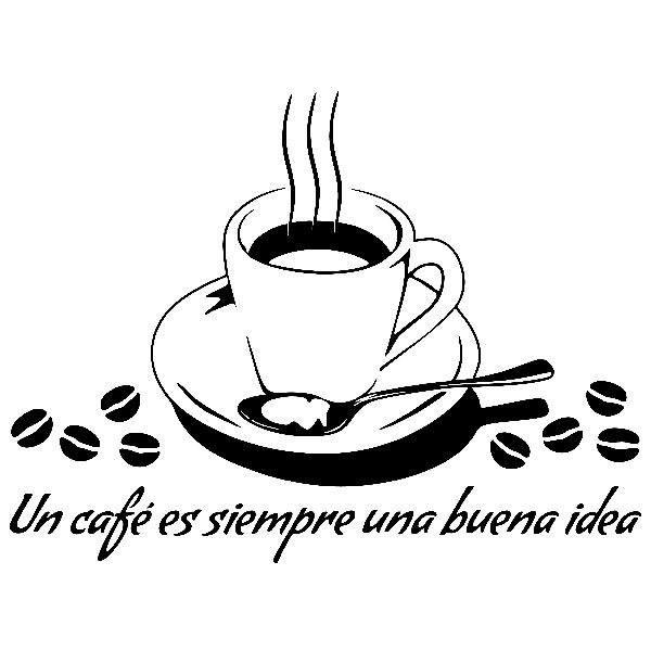 Adesivi Murali: Un café es siempre una buena idea