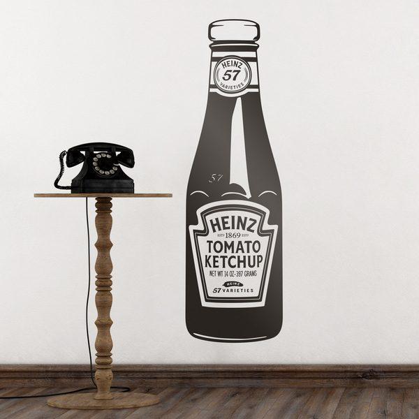Adesivi Murali: Heinz Ketchup