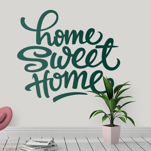 Adesivi Murali: Home Sweet Home