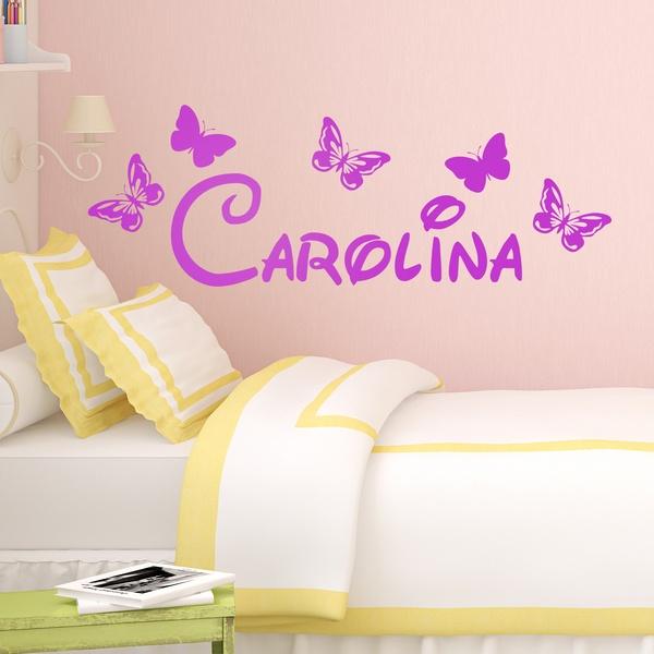Adesivi per Bambini: Personalizzato farfalle 1