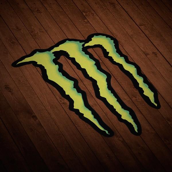 Adesivi per Auto e Moto: Monster Energy Logo 1