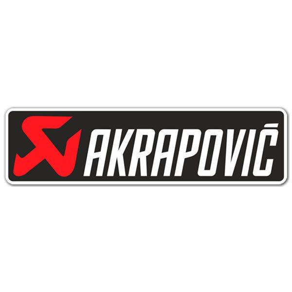 Adesivo akrapovic for Adesivi computer