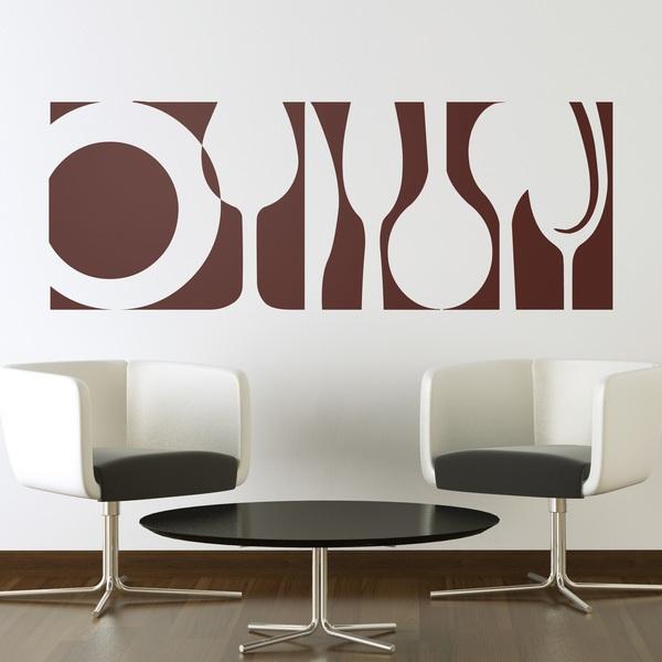 Adesivi Murali: Vasellame