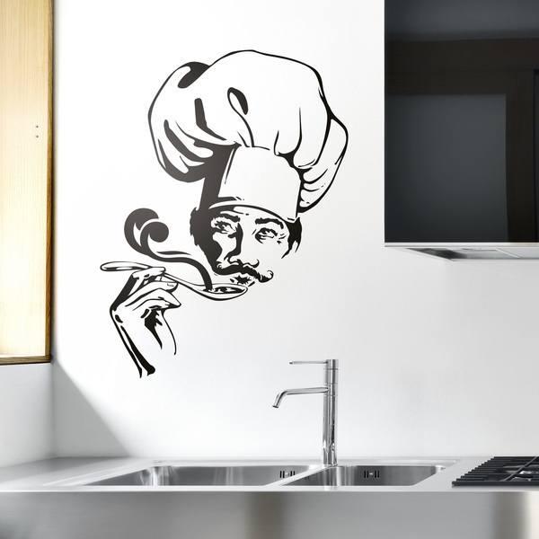 Adesivi Murali: Cuoco