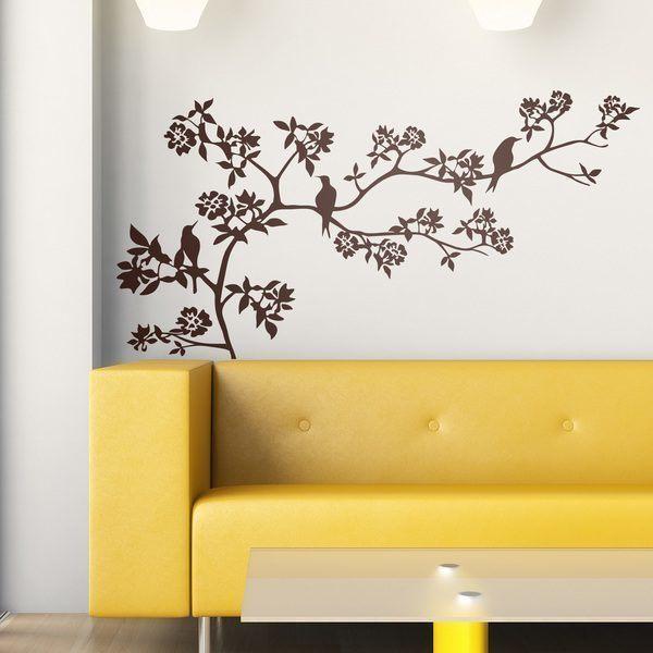 Adesivi murali con animali for Specchi adesivi murali