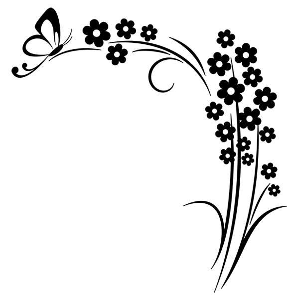 Adesivi Murali: Florale 10