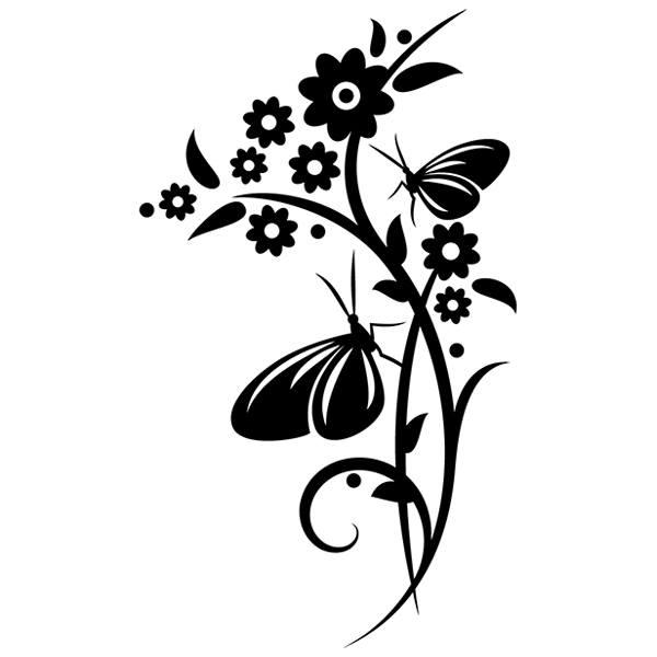 Adesivi Murali: Florale 151