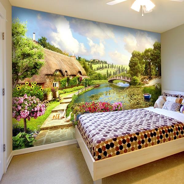 carta da parati per bambini e ragazzi. Black Bedroom Furniture Sets. Home Design Ideas