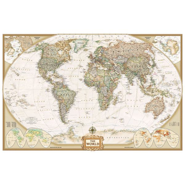 Carta da parati mappe del mondo for Weltkarte poster ikea