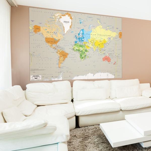 Carta da parati mappe del mondo for Carta parati mondo