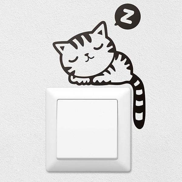 Adesivi Murali: Gattino