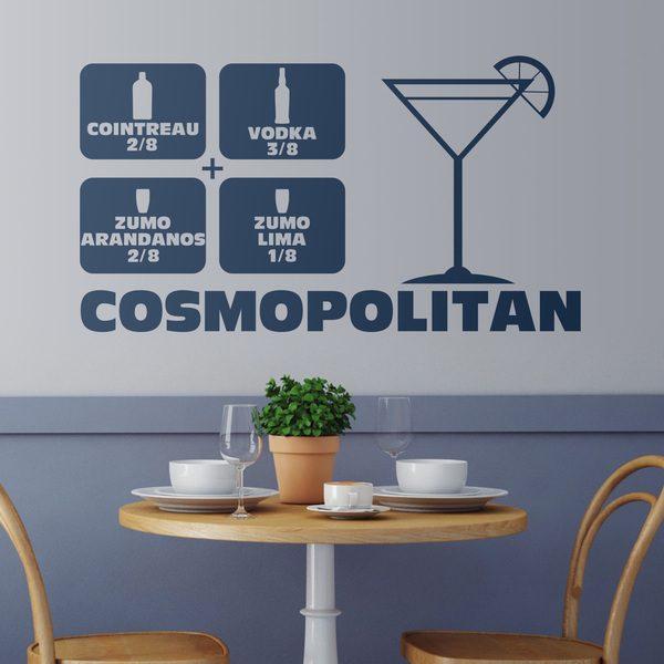 Adesivi Murali: Cocktail Cosmopolitan