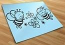 Adesivi bambini api