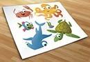 Adesivi bambini aquarius 2