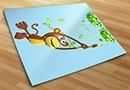 Adesivi bambini scimmia 3