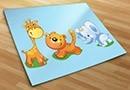 Adesivi bambini zoo 2