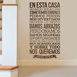 Adesivi murali stickers murali adesivi per pareti - Finestra in spagnolo ...