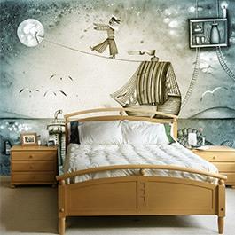 Murales fotomurali decorazioni murali for Carta parati murales