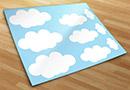 Adesivi murali kit nuvole