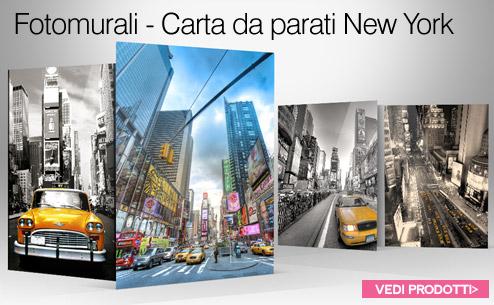 Murales fotomurali decorazioni murali for Carta da parati new york ebay