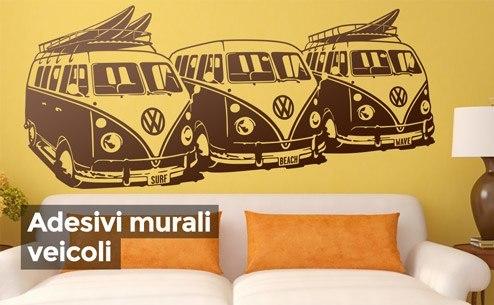 Stikers murali tutte le offerte cascare a fagiolo for Stickers murali 3d