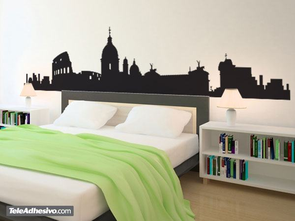 Roma skyline for Stickers da parete ikea