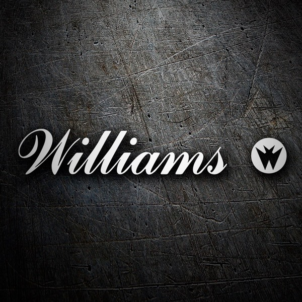 Adesivi per Auto e Moto: Williams Entertainment Logo