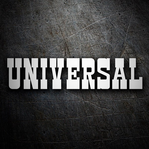 Adesivi per Auto e Moto: Universal Entertainment