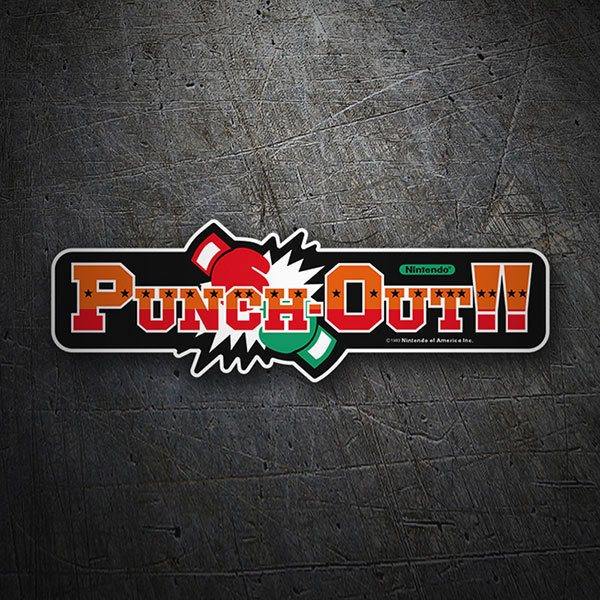Adesivi per Auto e Moto: Punch-Out!!