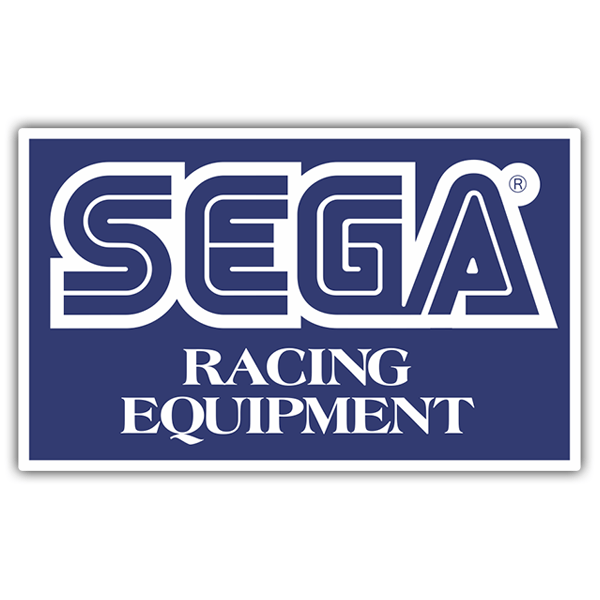 Adesivi per Auto e Moto: Sega Racing Equipment
