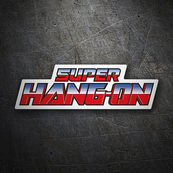 Adesivi per Auto e Moto: Super Hang-On