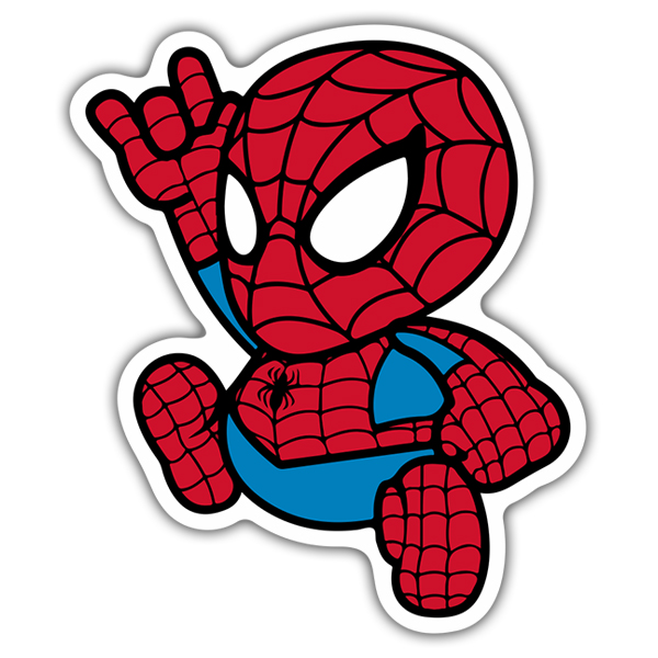 Adesivi per Auto e Moto: Spiderman Cartoon