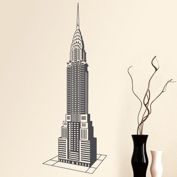 Adesivi Murali: Chrysler Building