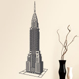 Adesivi Murali: Chrysler Building 2