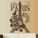 Adesivi Murali: I Love Paris 2