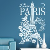 Adesivi Murali: I Love Paris 5