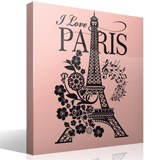Adesivi Murali: I Love Paris 6