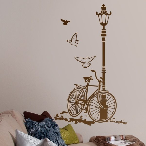 Camera da letto luogo for Stickers decorativos para dormitorios