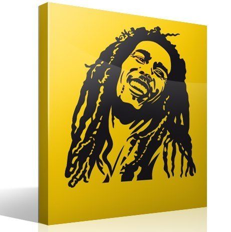 Adesivi Murali Bob Marley.Adesivo Murale Bob Marley Stickersmurali Com