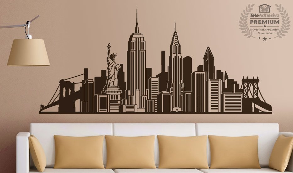 Adesivi Murali: Skyline New York