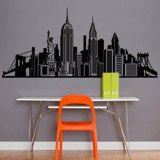 Adesivi Murali: Skyline New York 5