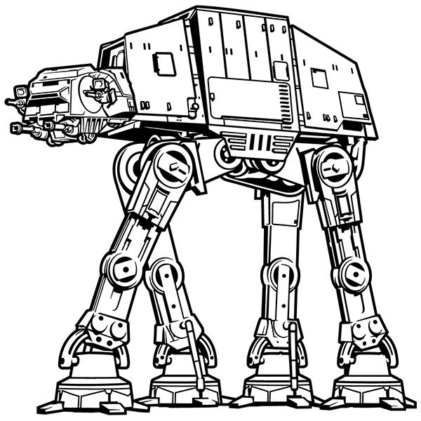 Adesivi Murali: AT-AT