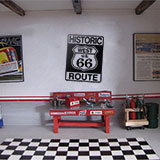 Adesivi Murali: Historic Route 66 3