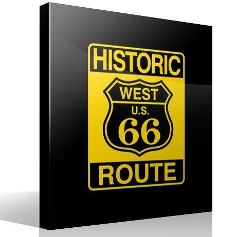 Adesivi Murali: Historic Route 66
