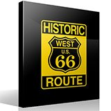 Adesivi Murali: Historic Route 66 5